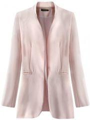 Amando Dámske elegantné sako 6469, ružové