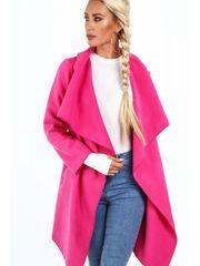 Amando Dámsky prechodný kabát 17421, ružový