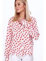Amando Dámska košeľa s červenými bodkami MP25917