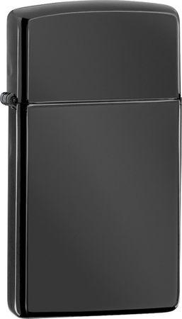 Zippo Benzines öngyújtó Ebony ™ Slim® 26586