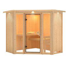 KARIBU fínska sauna KARIBU FLORA 1 (57003)
