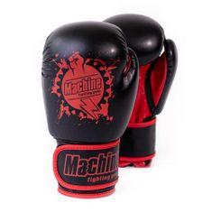MACHINE Boxerské rukavice Machine Fist - černo / červené