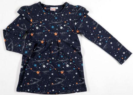 Topo dekliška tunika, 92, temno modra