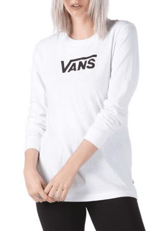 Vans ženska majica WM FLYING V LS L, bela