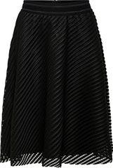 Jacqueline de Yong Dámska sukňa JDYOGGI WIDE SKIRT WVN Black