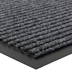 FLOMA Šedá čistící vnitřní vstupní rohož FLOMA Everton - 0,6 cm