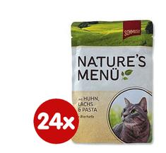 Schmusy hrana za macke Nature, piletina i losos