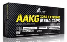 Olimp AAKG 1250 Extreme Mega Caps 120kapslí