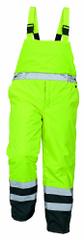 Cerva Zateplené voděodolné reflexní kalhoty na traky Padstow