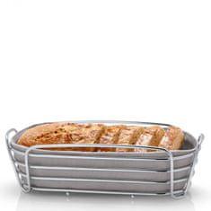 Blomus  Košík na pečivo DELARA sivohnedý oválny