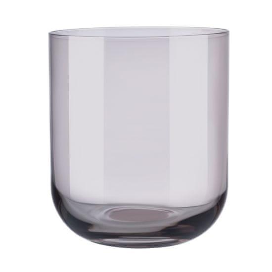 Blomus  Súprava 4 pohárov na vodu FUUM hnedé sklo