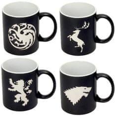 Cdiscount sada 4 hrnků Game Of Thrones, černý
