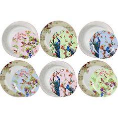 Ardtime sada 12 zdobených talířů