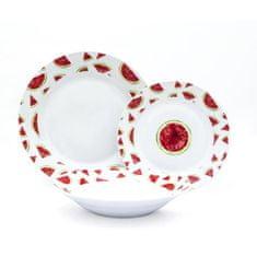ABS stolní porcelánový servis - 18 kusů