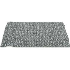 Zolux přehoz pro psy s geometrickými vzory, L, 88 x 60 cm, šedá