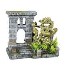 Vadigran akvarijní dekorace - dračí dveře