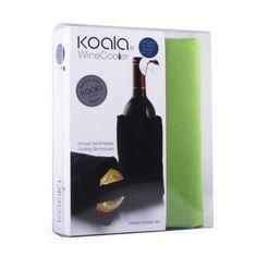 Cdiscount chladící obal na láhev vína, zelený