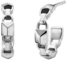 Michael Kors Kerek acél fülbevalók MKC1013AA040 ezüst 925/1000