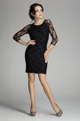 Figl Dámske šaty M076 black