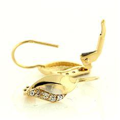 Amiatex Arany fülbevaló 15471
