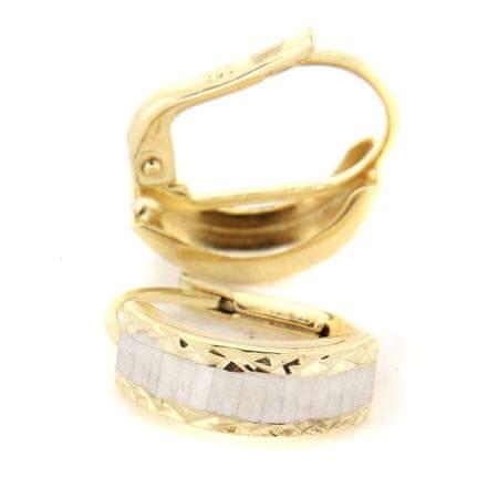 Amiatex Kolczyki złote 25113 + Skarpetki Gatta Calzino Strech, 1.5 G