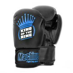 MACHINE Boxerské rukavice Machine King Crown - černo/modré