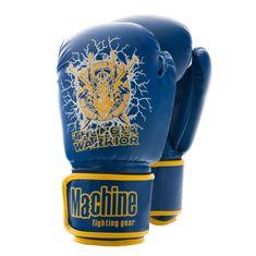 MACHINE Boxerské rukavice Machine THUNDER WARRIOR - modré