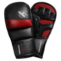 HAYABUSA Hayabusa MMA rukavice T3 7oz Hybrid - černo/červené