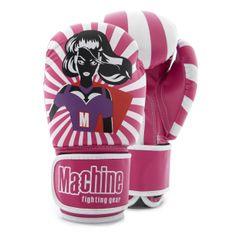 MACHINE Boxerské rukavice Machine Super Woman - růžové