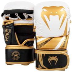 VENUM MMA Sparring rukavice VENUM CHALLENGER 3.0 - bílo/černo-zlaté