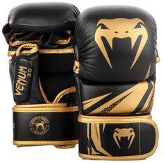 VENUM MMA Sparring rukavice VENUM CHALLENGER 3.0 - černo/zlaté