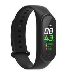NEOGO SmartBand MS4, fitness náramok, čierny