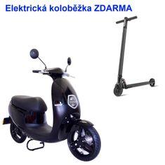 ECOOTER Elektrický skútr ECOOTER E1S 3kW černá