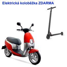 ECOOTER Elektrický skútr ECOOTER E1S 3kW červená