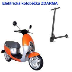 ECOOTER Elektrický skútr ECOOTER E1S 3kW oranžová