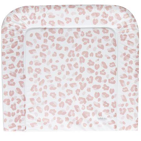 Bebe-jou Háromoldalas pelenkázó alátét Leopard, Pink