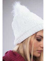Amando Biela dámska zimná čiapka C8