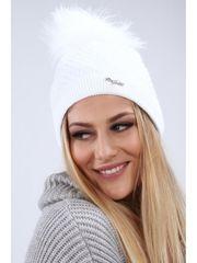 Amando Biela dámska čiapka C16