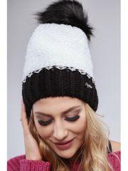 Amando Biela zimná čiapka C6