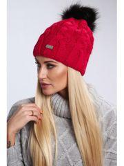 Amando Dámska červená čiapka C23