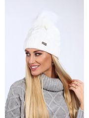 Amando Dámska biela čiapka C23