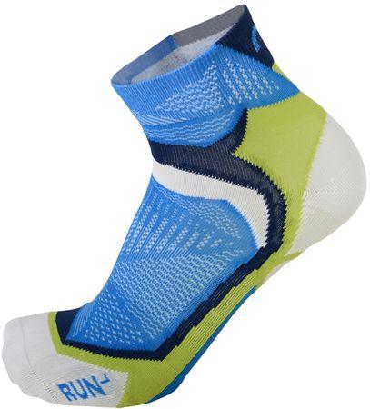 Mico Extralight Weight Running Socks nogavice Blu Cobalto, L