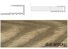 Effector Prechodové lišty A63 šírka 1,6 cm, dĺžka 270 cm - dub antický