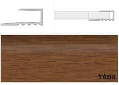 Effector Prechodové lišty ukončovacia A63, 1,6 cm x 270 cm - frézia