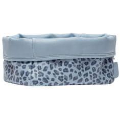 Bebe-jou Textilní košík na kojenecké potřeby Leopard Blue
