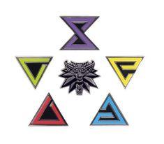 Odznaki Wiedźmin 3 - Znak