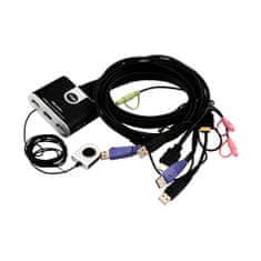 Aten 2-Port USB HDMI KVM stikalo