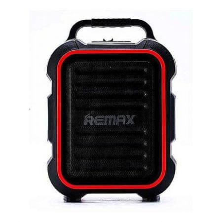 REMAX RB-X3 zunanji brezžični zvočnik, črno-rdeč