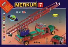 Merkur Stavebnice 7 100 modelů 1124ks 4 vrstvy v krabici 54x36x6cm