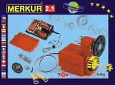 Merkur Stavebnice 2.1 Elektromotorek v krabici 26x18x5cm